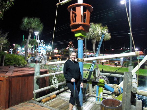 After the arcade & the batting cage it was mini-golf time... these are just a few of the dozens of family friendly activities you can enjoy in Panama City Beach, Florida.