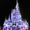 Definitely though the # 1 Christmas highlight when visiting Walt Disney World is seeing Cinderella's Castle light up with it's hundreds of thousands of lights... pretty awesome!!