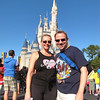 "Today we spent the day at ""Magical Kingdom"" at Walt Disney World in Florida... it's our 4th visit here together and as always we had a great time!! Ya, it's our 4th time here but you can't just walk by Cinderella's Castle without snapping a pic! :-) Check out our full blog post about our time in Walt Disney World here: <a href=""http://nancyandshawnpower.com/walt-disney-world-florida-christmas-time/"">http://nancyandshawnpower.com/walt-disney-world-florida-christmas-time/</a>"