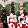 Even Santa & Mrs Claus were at Epcot... Fun!! :-)