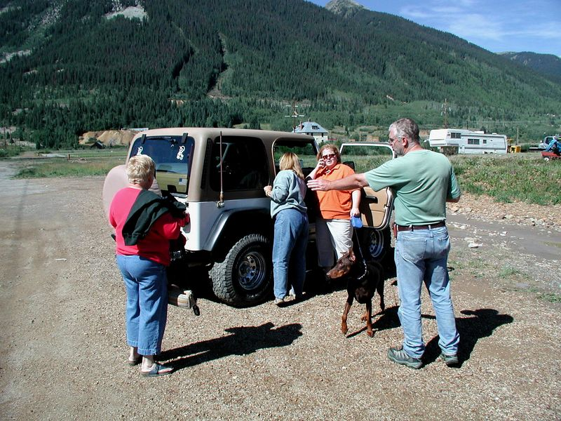 On arrival in Silverton, Julie completed purchase of the TJ