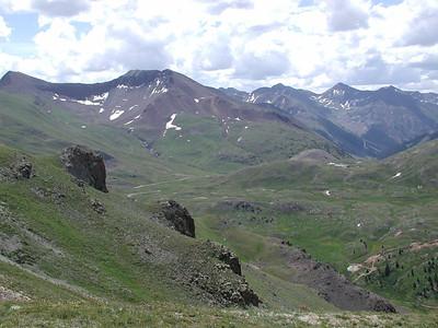 On top of Eureka Mountain