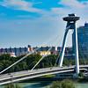 Bratislava, Slovakia, bridge.