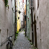 Narrow Streets of the past in Passau, Germany