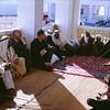 Break Fast Meal<br /> At home of Sheikh Zayed II bin Sultan Al Nahyan<br /> Al Ain Oasis, Abu Dhabi-1966