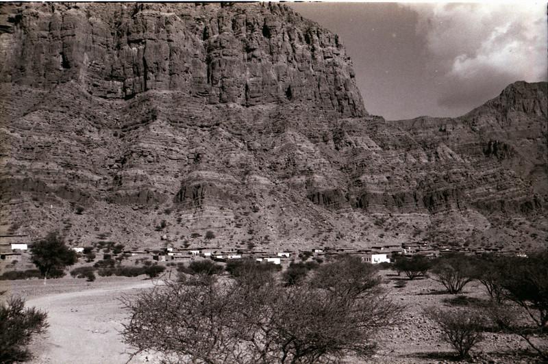 View near Dibba Al-Fujairah<br /> Trucial States - 1966