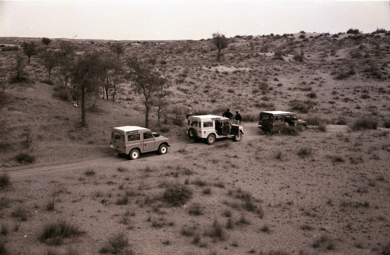 The Main, and only, road from Fujairah to Dibba in 1966