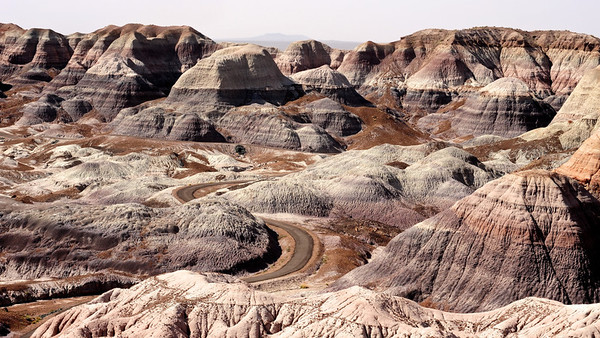Road, Painted Desert, AZ