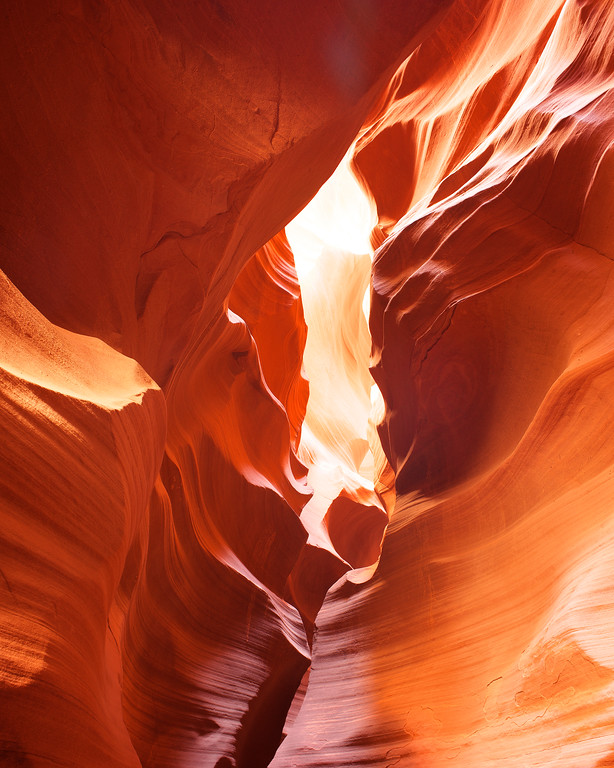 On Fire, Antelope Canyon, AZ