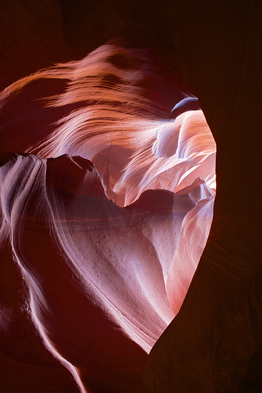 Heart on Fire, Antelope Canyon, AZ