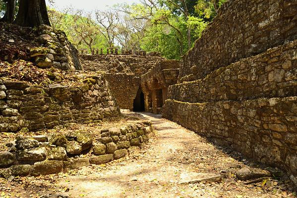 Mexico, Yaxchilan, Labyrinth