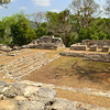 Mexico, Yaxchilan, Little Acropolis, Plaza with Ball Court