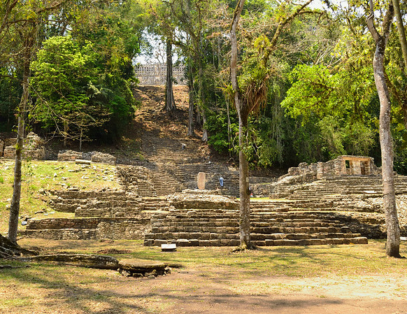 Mexico, Yaxchilan, Grand Staircase