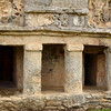 Mexico, Tulum, Temple of the Descending God (Temple of the Frescos)