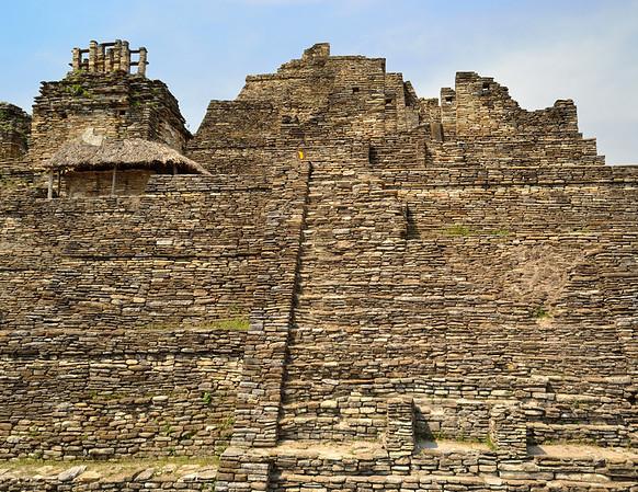 Mexico, Tonina, Temple of the Smoking Mirror (top)