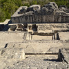 Mexico, Calakmul, On the Top of Pyramid II.