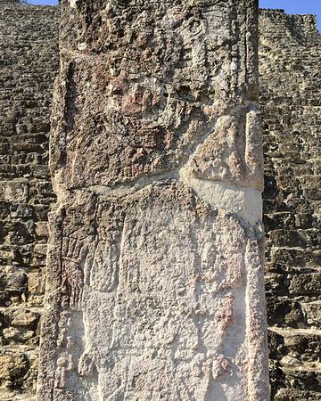 Mexico, Calakmul, Stele