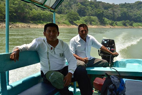 Mexico, Yaxchilan, Rio Usumacinta, Boat Tour