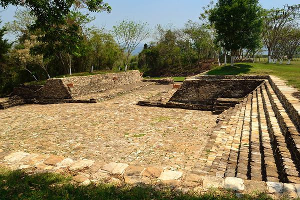Mexico, Tonina, Ball Court