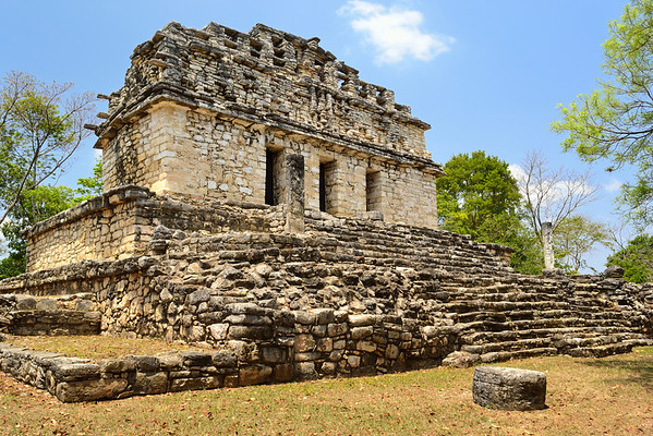 Mexico, Yaxchilan, South Acropolis