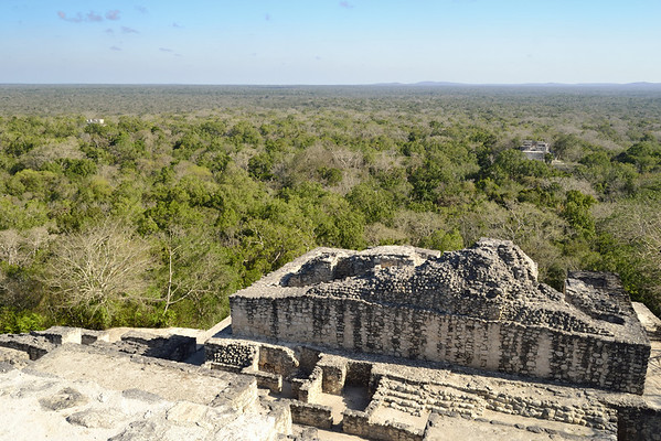 Mexico, Calakmul, The pyramids are just everywhere.