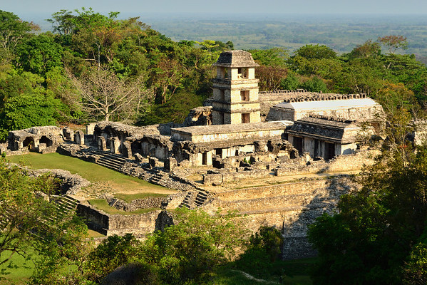 Mexico, Palenque, Palace