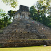 Mexico, Palenque, Temple of the Cross