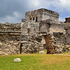 Mexico, Tulum, Kukulkan Group with the Castle