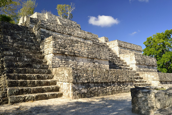 Mexico, Calakmul, Top of the Pyramid II