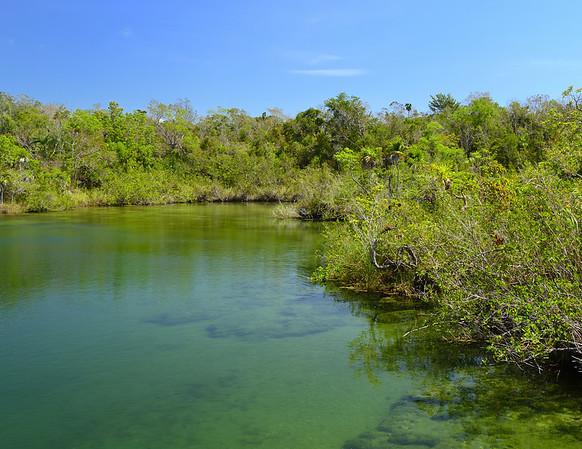 Mexico, Tulum, Cenote