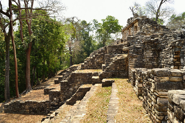 Mexico, Yaxchilan, Little Acropolis