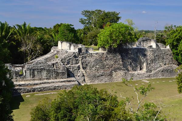 Mexico, Kohunlich, Acropolis