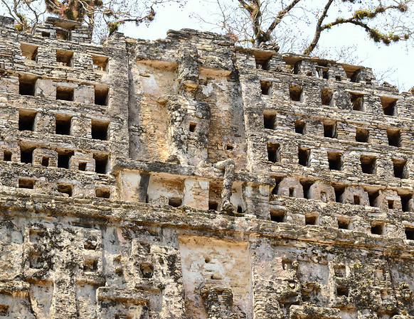 Mexico, Yaxchilan, Great Acropolis, Grand Temple