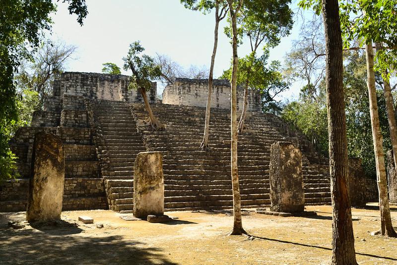 Mexico, Calakmul, Gran Acropolis