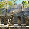 Mexico, Calakmul, Temple VIII