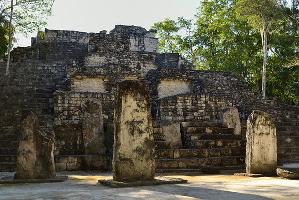 Mexico, Calakmul, Temple