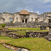 Mexico, Tulum, Palace (House of the Columns)