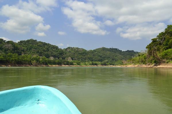 Mexico, Chiapas, Rio Usumacinta