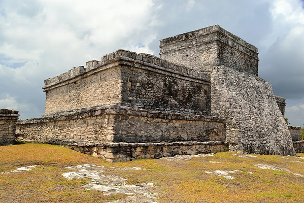 Mexico, Tulum, El Castillo (Castle)