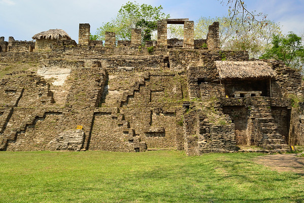 Mexico, Tonina, Palace of the Grecas and War