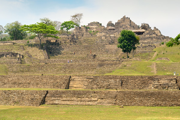 Mexico, Tonina, Acropolis