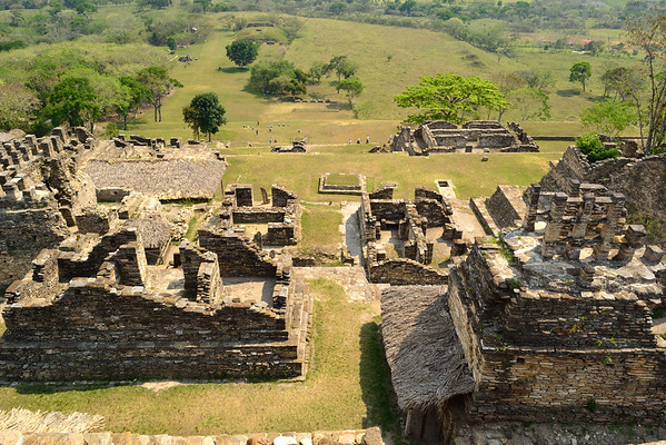 Mexico, Tonina, Temples and Gran Plaza