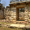 Mexico, Yaxchilan, Little Acropolis, Door with a Lintel