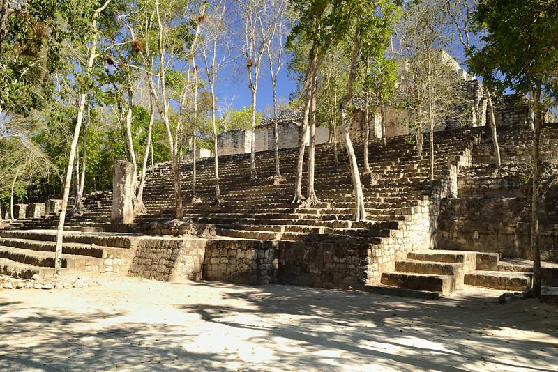 Mexico, Calakmul,Pyramid VIII