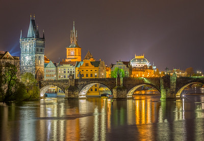 Gothic Tower and Charles Bridge