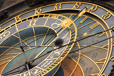 Astronomical Clock up Close 1