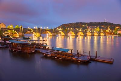 Boats on Vltava