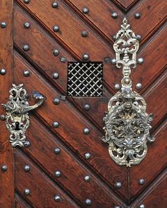 Wooden Door, Prague