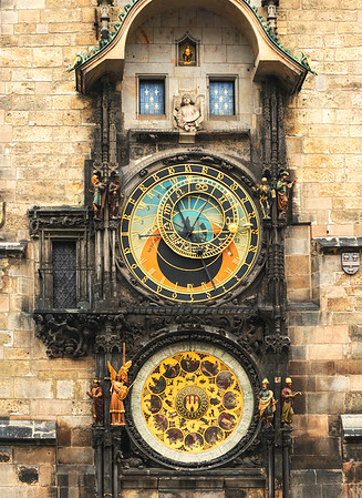 Astronomical Clock, Old Town, Prague