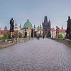 Charles Bridge, Prague, Pano